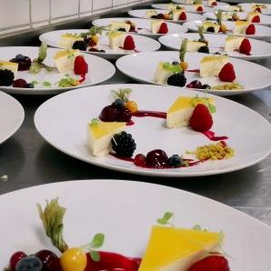 Joghurtschnitte mit Beeren
